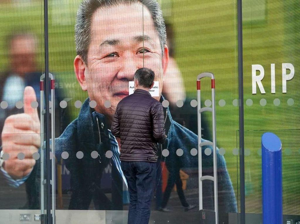 Leicester Akan Abadikan Mendiang Bos dengan Patung di Stadion