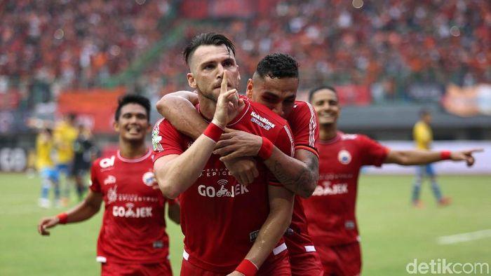 Persija Jakarta akan menghadapi PS Tira di Stadion Wibawa Mukti, Cikarang, Sabtu (10/11/2018). (Foto: dok. Agung Pambudhy/detikSport)