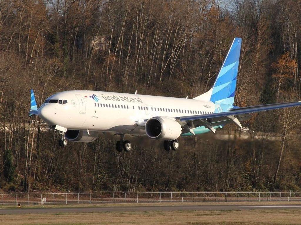 Garuda Batalkan Pemesanan 49 Unit Boeing 737 MAX 8