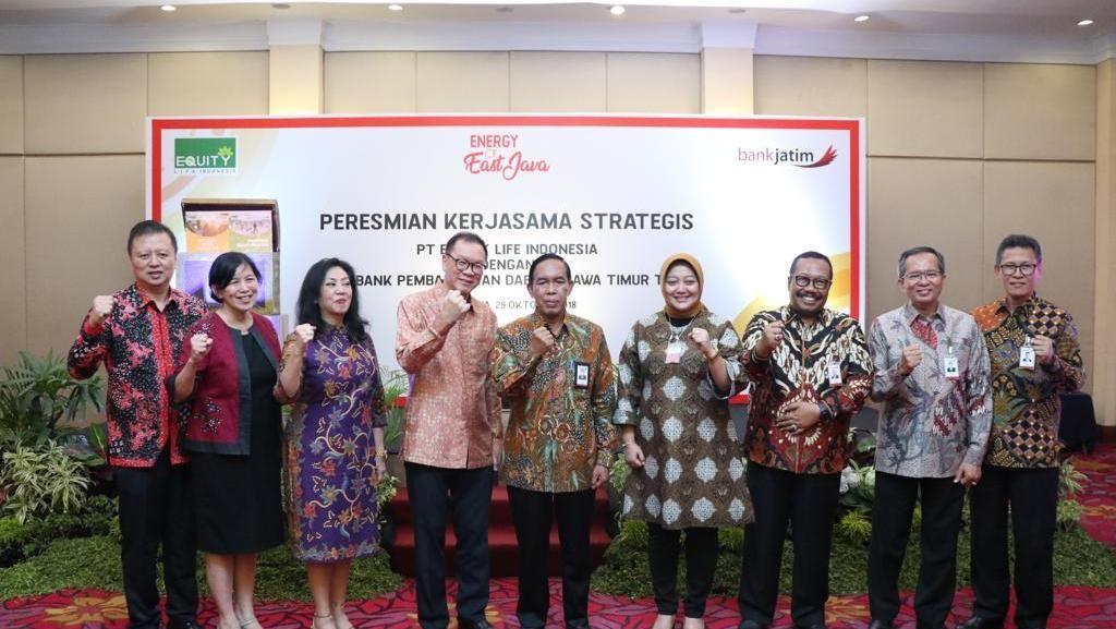 Bank Jatim Gandeng Equity Life Indonesia