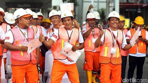 Ilustrasi tenaga kerja/Foto: Rengga Sancaya