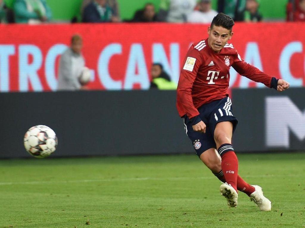 James Rodriguez Minta Tak Dipermanenkan Bayern