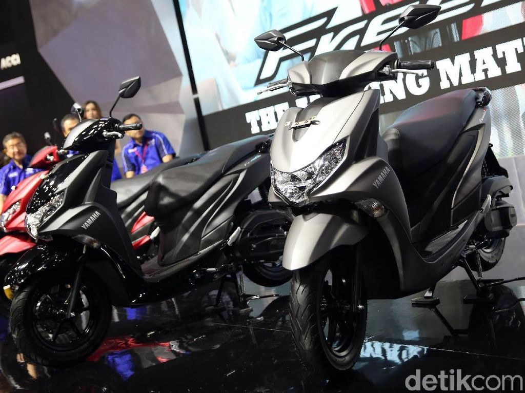 Yamaha Luncurkan Skutik Anyar