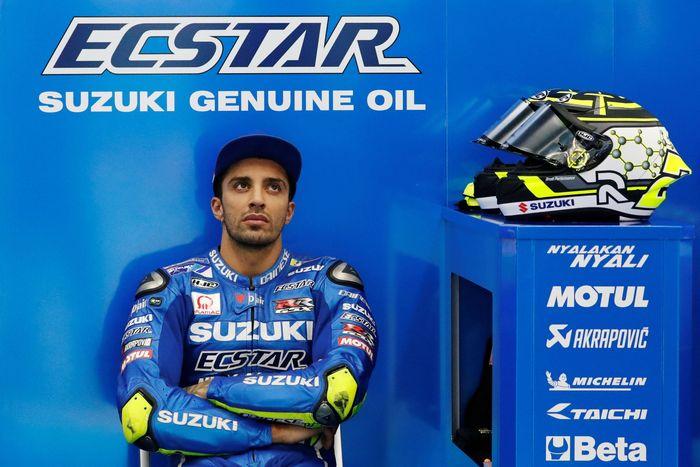 Andrea Iannone tak memahami kenapa Suzuki melepasnya di 2019. (Foto: Toru Hanai/Reuters)