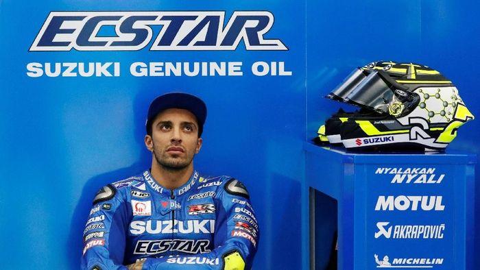 Andrea Iannone tidak diperpanjang Suzuki musim depan. (Foto: Toru Hanai/Reuters)