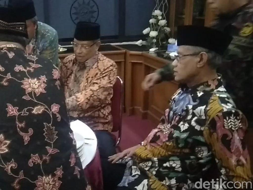 Haedar Nashir dan Said Aqil Hadiri Pertemuan PP Muhammadiyah-PBNU