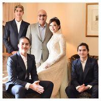 Keluarga Maia Estianty - Irwan Mussry.