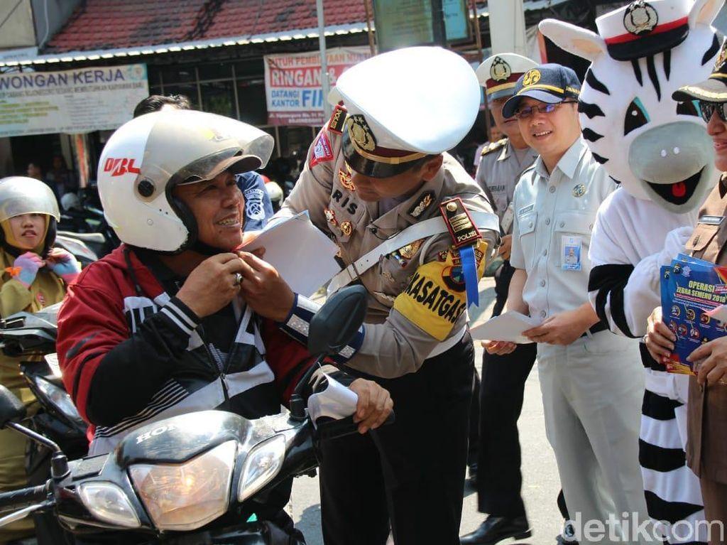 60 Ribu Surat Tilang Ludes di Operasi Zebra Semeru Polda Jatim