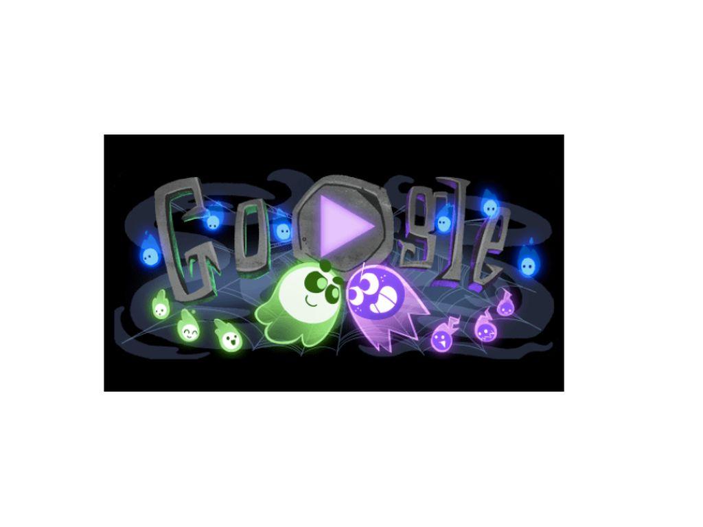 Google Doodle Halloween 2018 ala Game Multiplayer, Yang Lain?