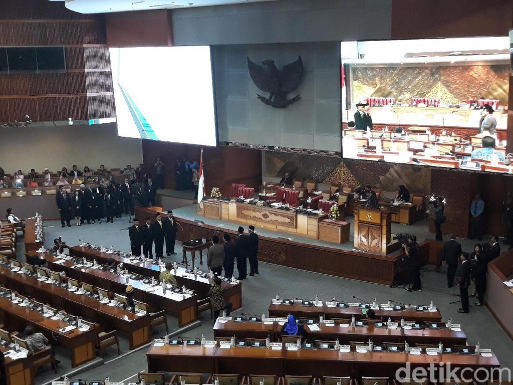 Pengganti Setya Novanto di DPR Dilantik, Ini Sosoknya