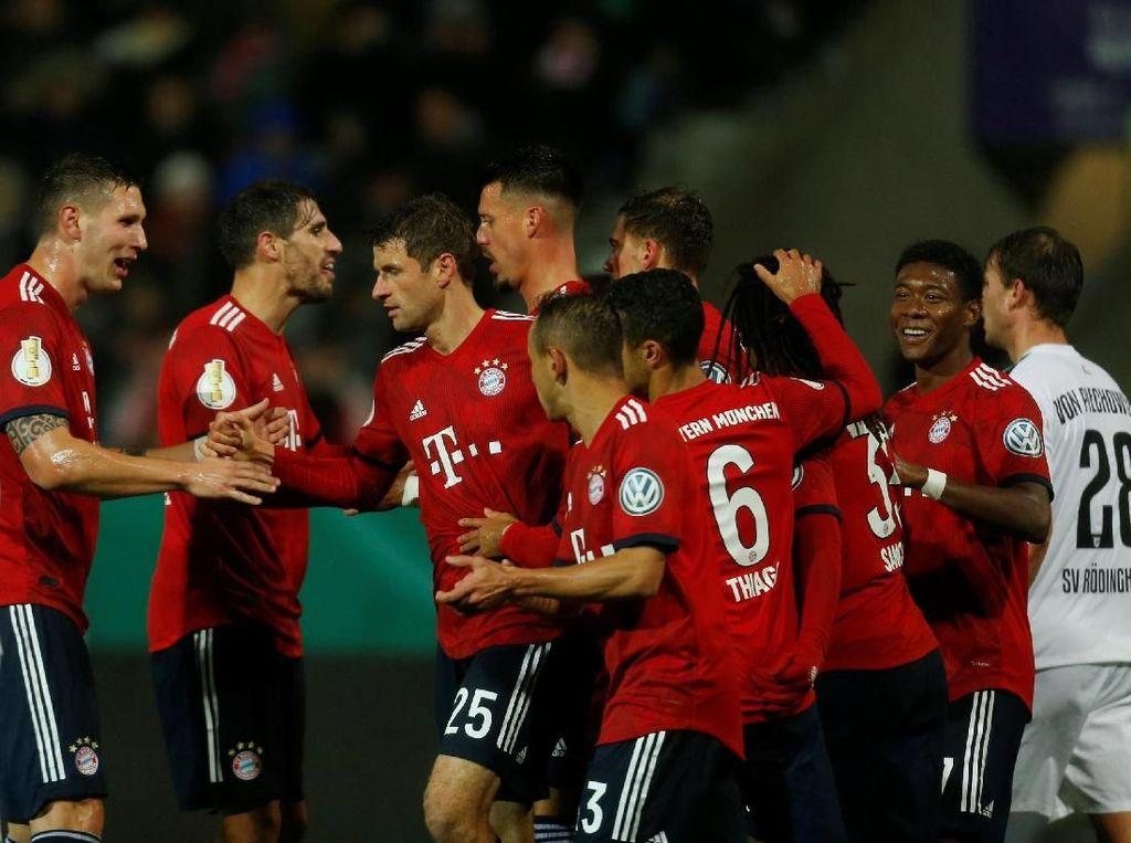 Hasil DFB-Pokal: Bayern Maju ke Babak 16 Besar