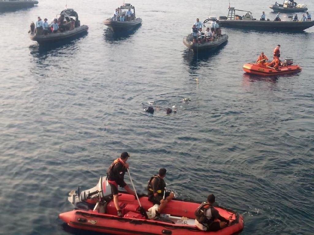 Menhub: Pencarian Jenazah Penumpang Lion Air PK-LQP Tetap Lanjut