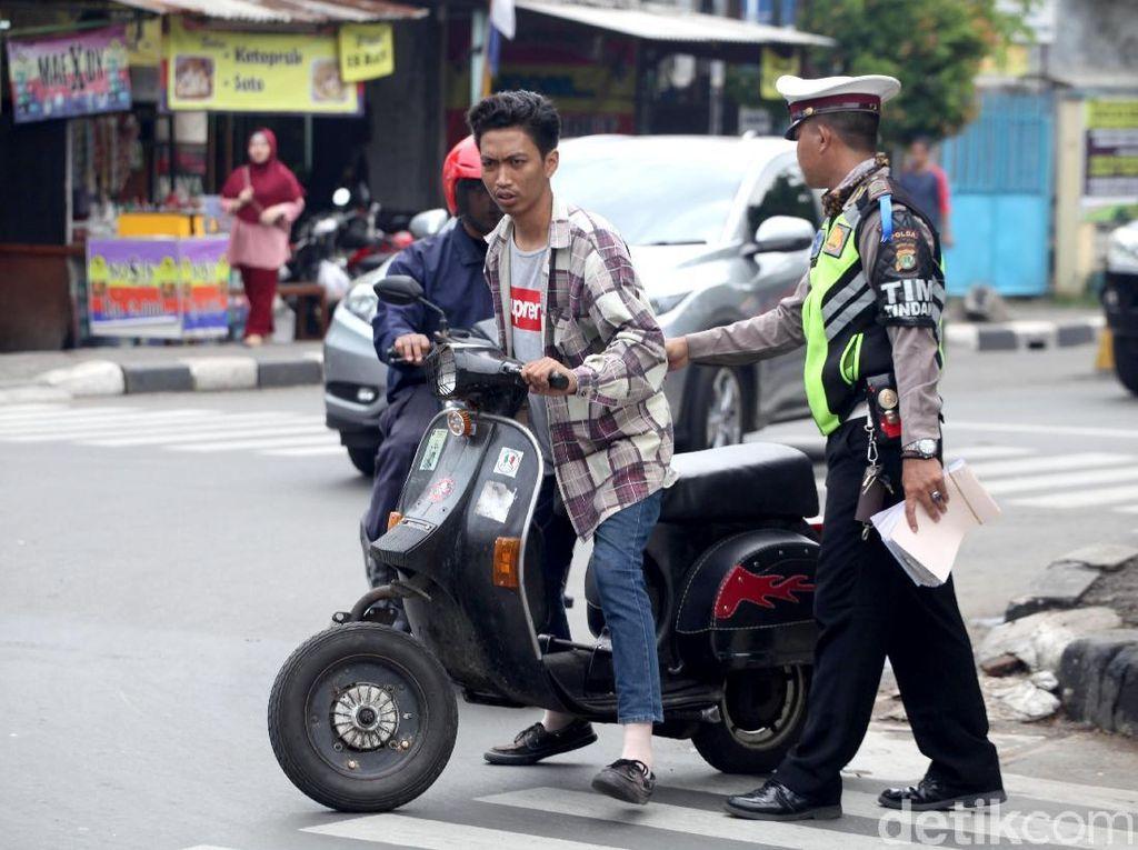 Pelajar Dominasi Pelanggaran Operasi Zebra di Banten
