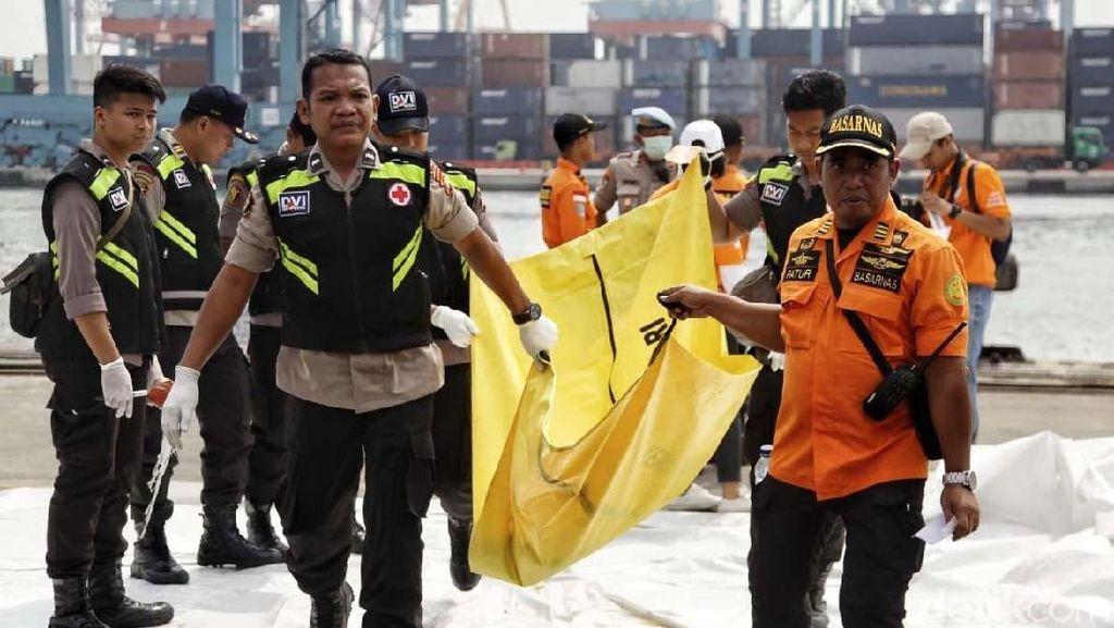 Satu Kantong Jenazah Kembali Tiba di Tanjung Priok