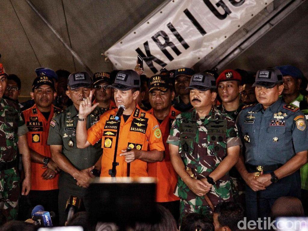 Operasi Diperpanjang 3 Hari, Basarnas Fokus Cari Korban Lion Air