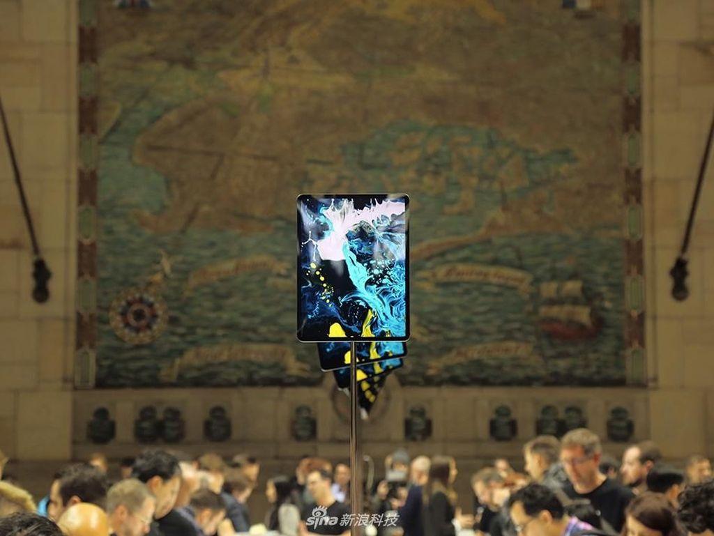Penampakan iPad Pro 2018 yang Tampil Makin Menawan