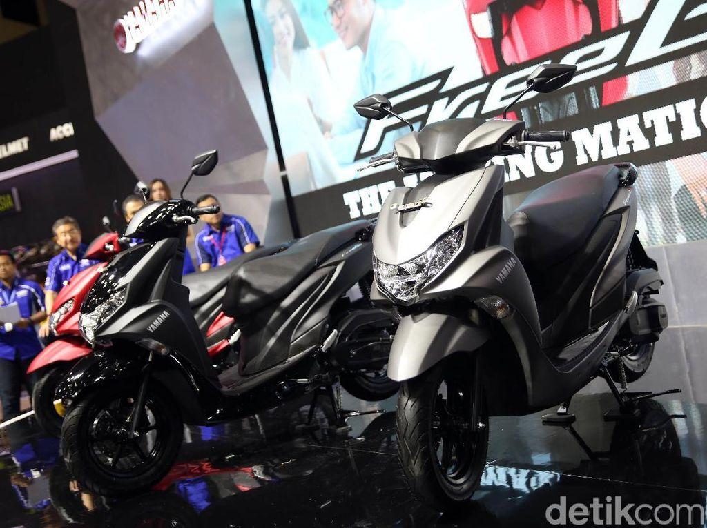 IMOS 2018: Yamaha Luncurkan Motor Matik Baru, Namanya FreeGo