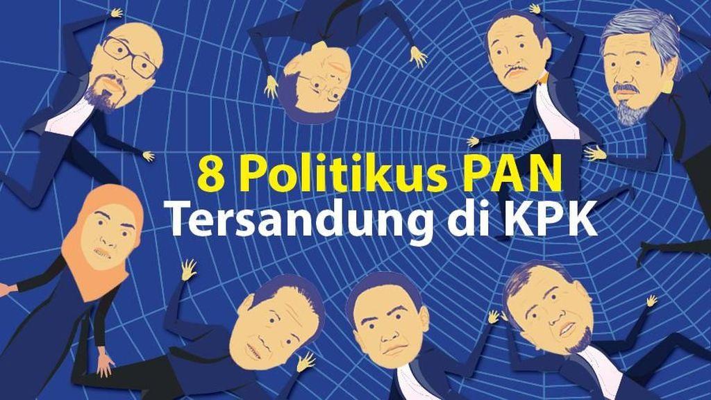 Politikus PAN yang Tersandung KPK