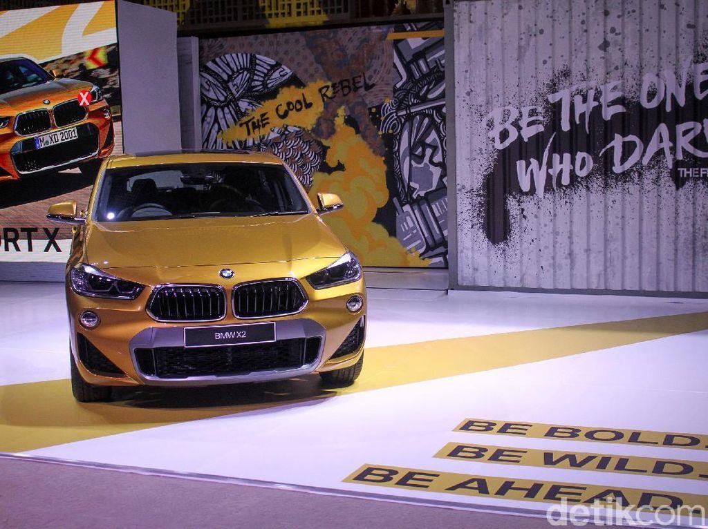 BMW X2 Versi Diesel Belum Tersedia di Indonesia