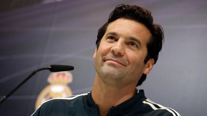 Santiago Solari diyakini takkan lama melatih Madrid. (Foto: Susana Vera/Reuters)