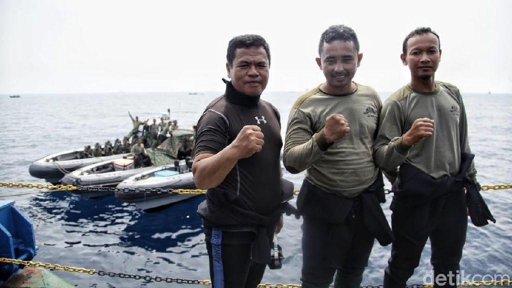 Potret TNI AL yang Temukan FDR Black Box Lion Air