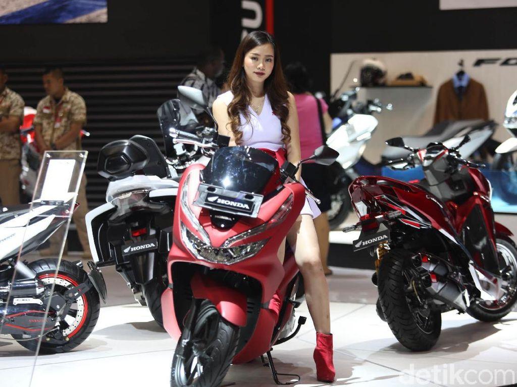 Honda Jual 390 Unit Motor di IMOS 2018, Motor Ini Paling Laku