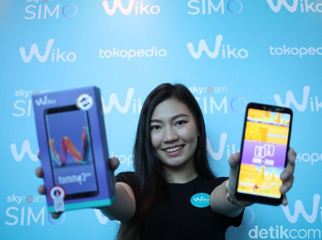 Ponsel Wiko Bisa Internetan Tanpa WiFi dan SIM Card