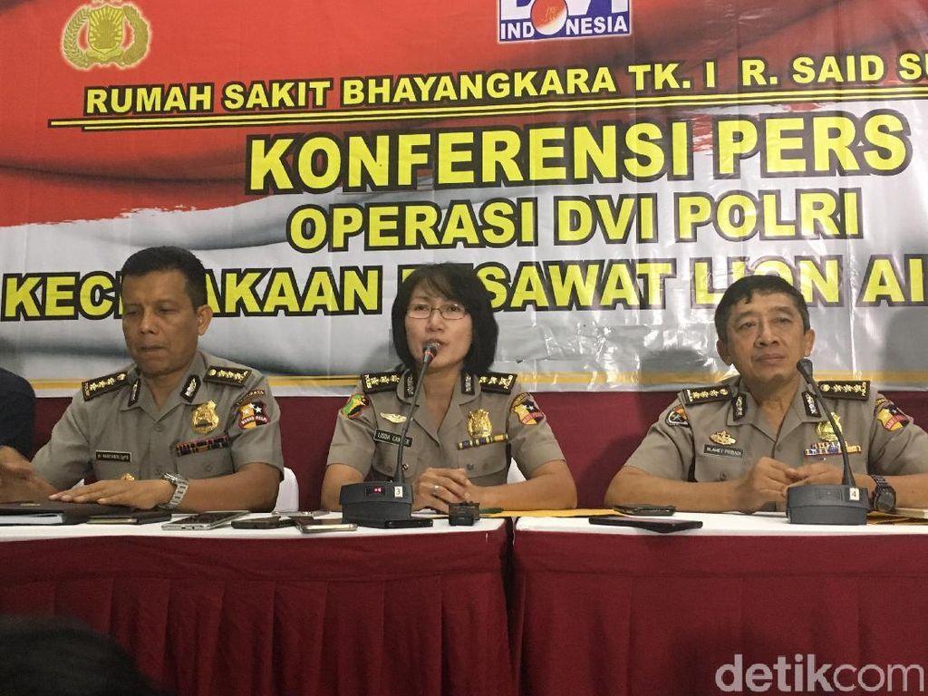 Total 51 Orang Termasuk Satu Keluarga Korban Lion Air Teridentifikasi