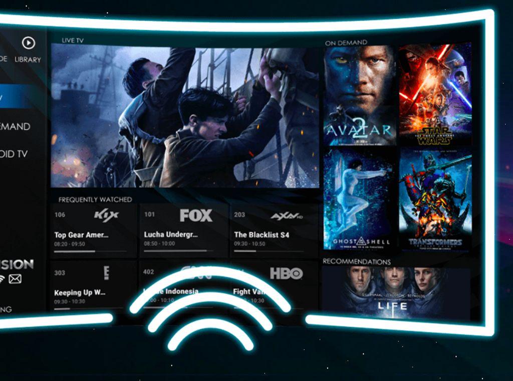 Asyik, Transvision Luncurkan Layanan Internet TV