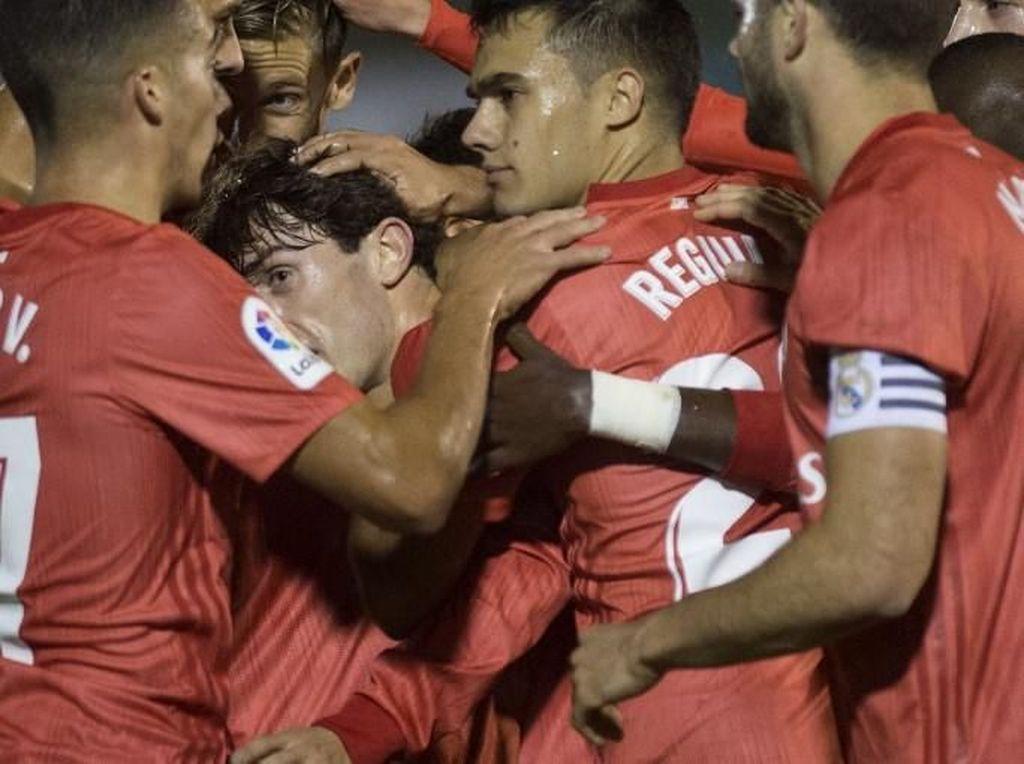 Hasil Copa del Rey: Madrid Menang 4-0 di Laga Debut Solari