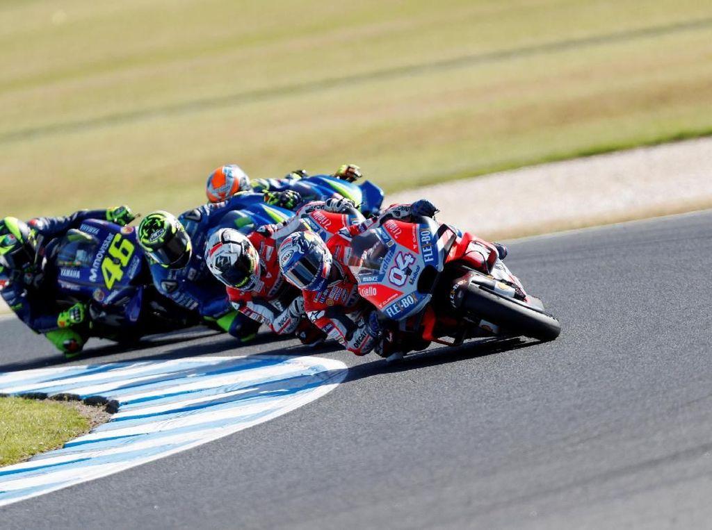 Kebangkitan Yamaha Tak Mengancam Dovizioso