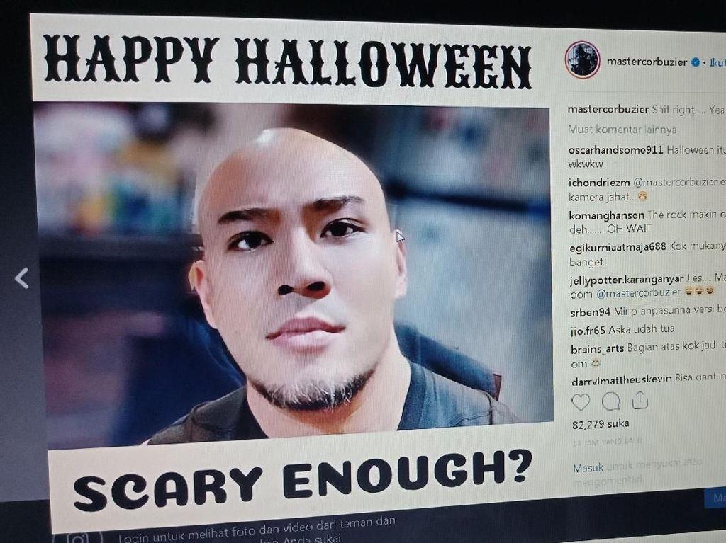Foto Halloween ala Deddy Corbuzier Ini Jadi Sorotan