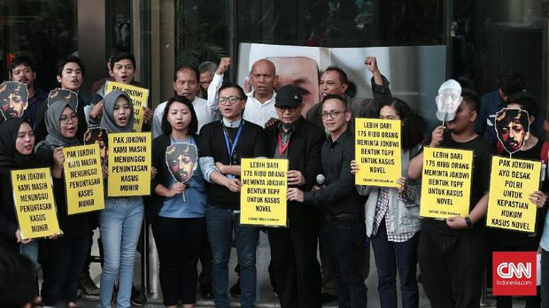 Komitmen Jokowi Bongkar Kasus Novel Berlalu Dimakan Waktu