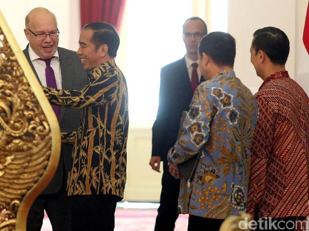 Menteri Jerman Temui Jokowi di Istana