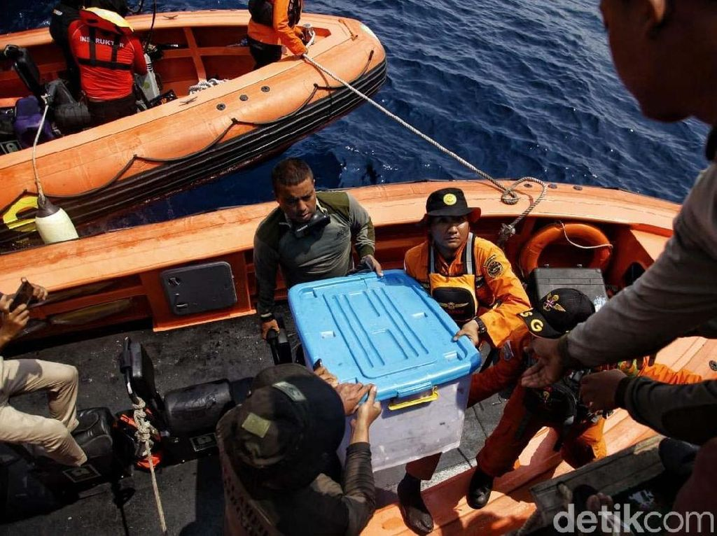 KNKT akan Download Data Black Box Lion Air PK-LQP di Lab