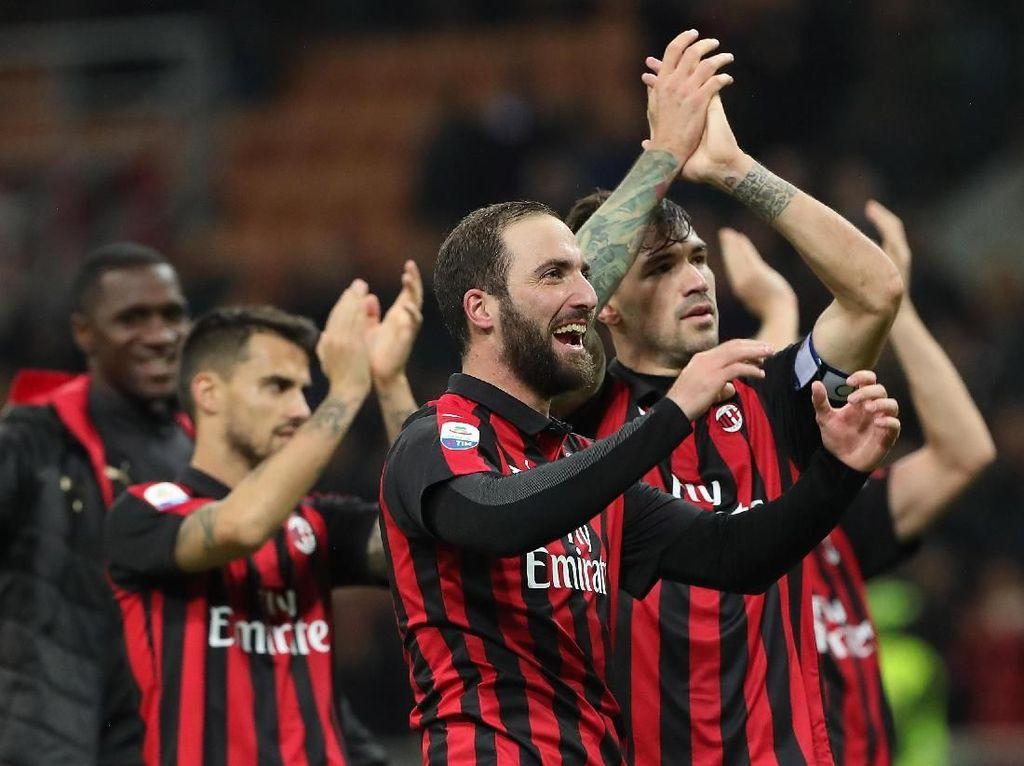 Kalahkan Genoa, Milan Tembus Empat Besar