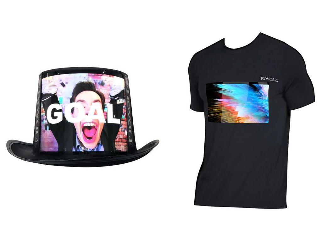 TV di Topi dan Kaus, Kakak Ponsel Layar Lipat Pertama Dunia