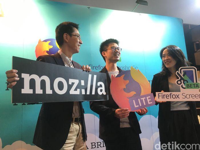Suasana peluncuran Firefox Lite. Foto: Agus Tri Haryanto/inet