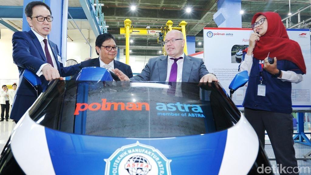 Menteri Ekonomi dan Energi Jerman Kunjungi Poltek Astra