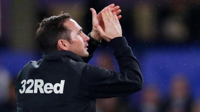 Rumor Frank Lampard bakal melatih Chelsea kian menguat, setelah kedua pihak dikabarkan sudah berdiskusi. (Foto: Andrew Couldridge/Reuters)