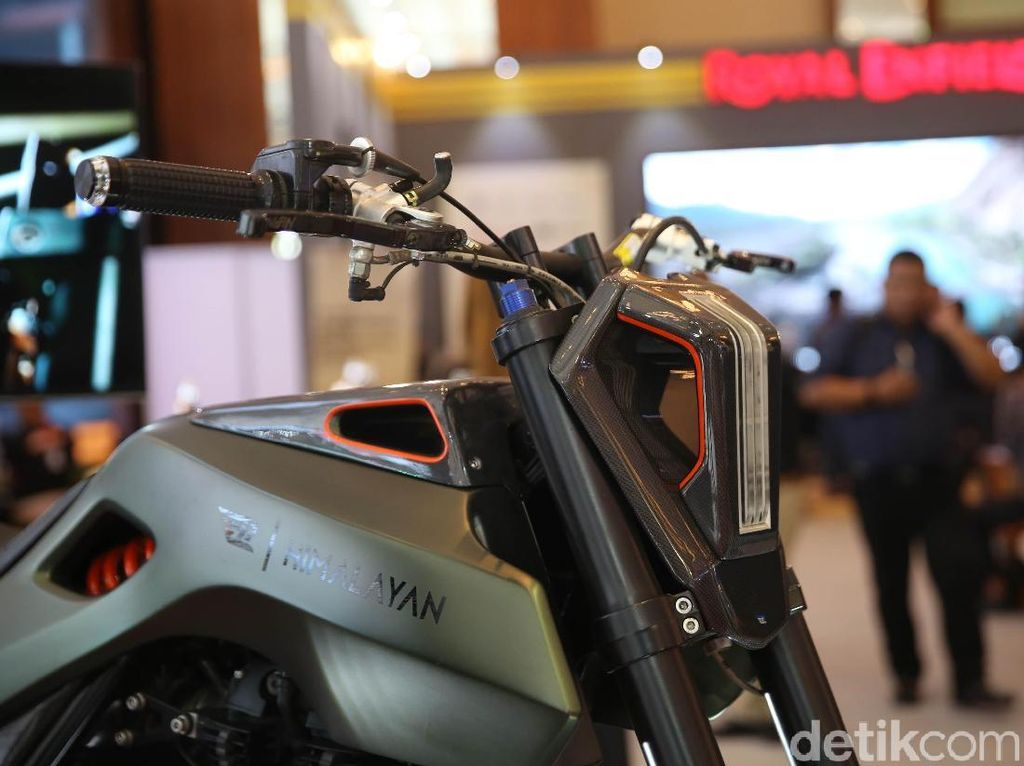 IMOS 2018: Royal Enfield Himalayan Modifikasi Ini Not For Sale