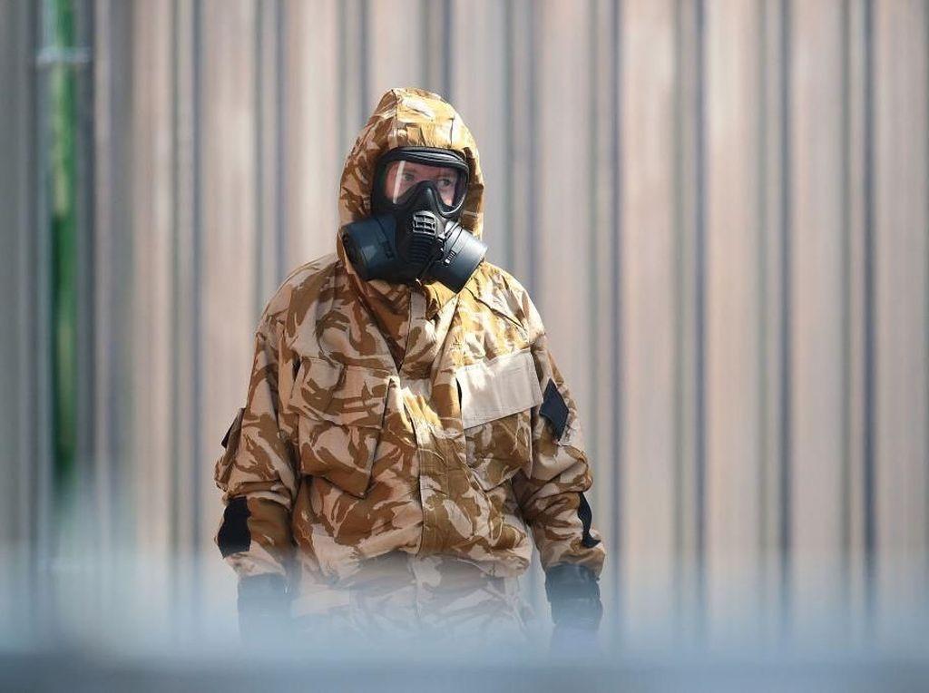 Mengintip Baju Tempur Berbagai Negara untuk Lawan Penyakit