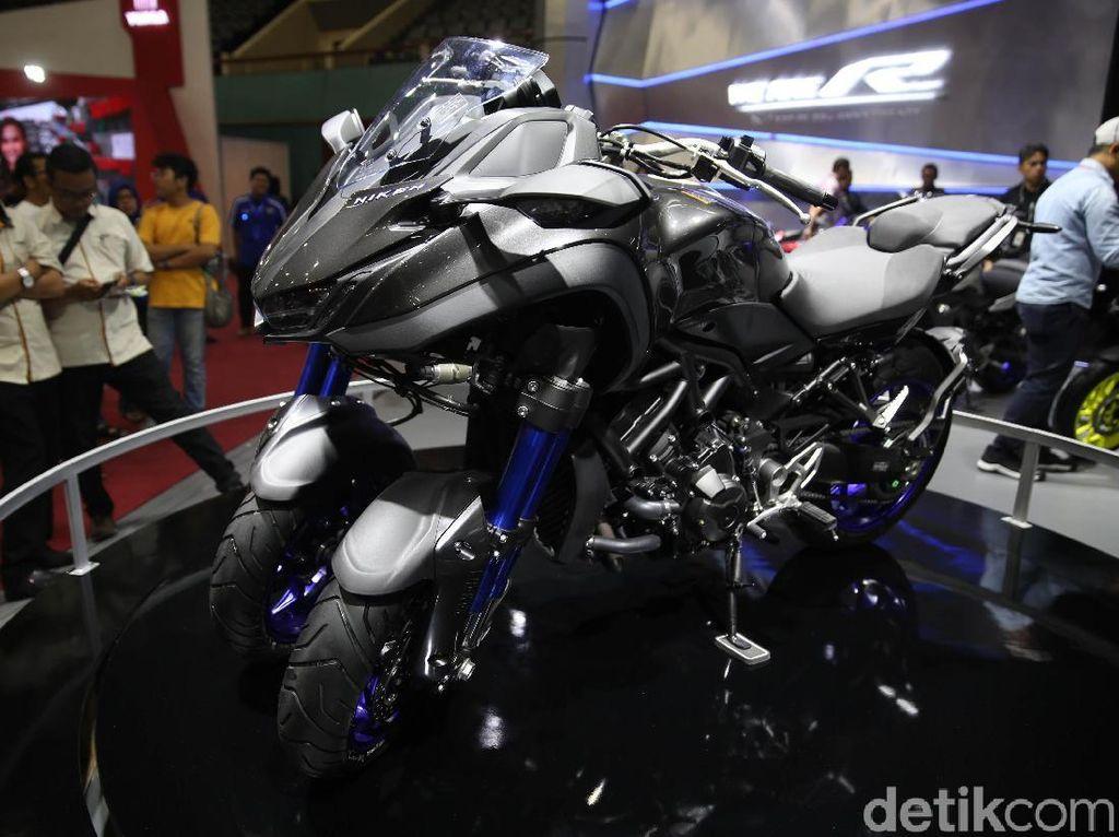 IMOS 2018: Yamaha Pajang Niken, Moge Roda Tiga