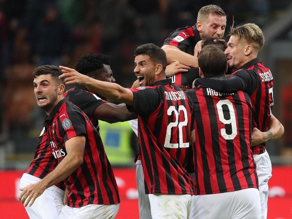 Hasil Milan vs Genoa: Gol di Injury Time Menangkan Rossoneri