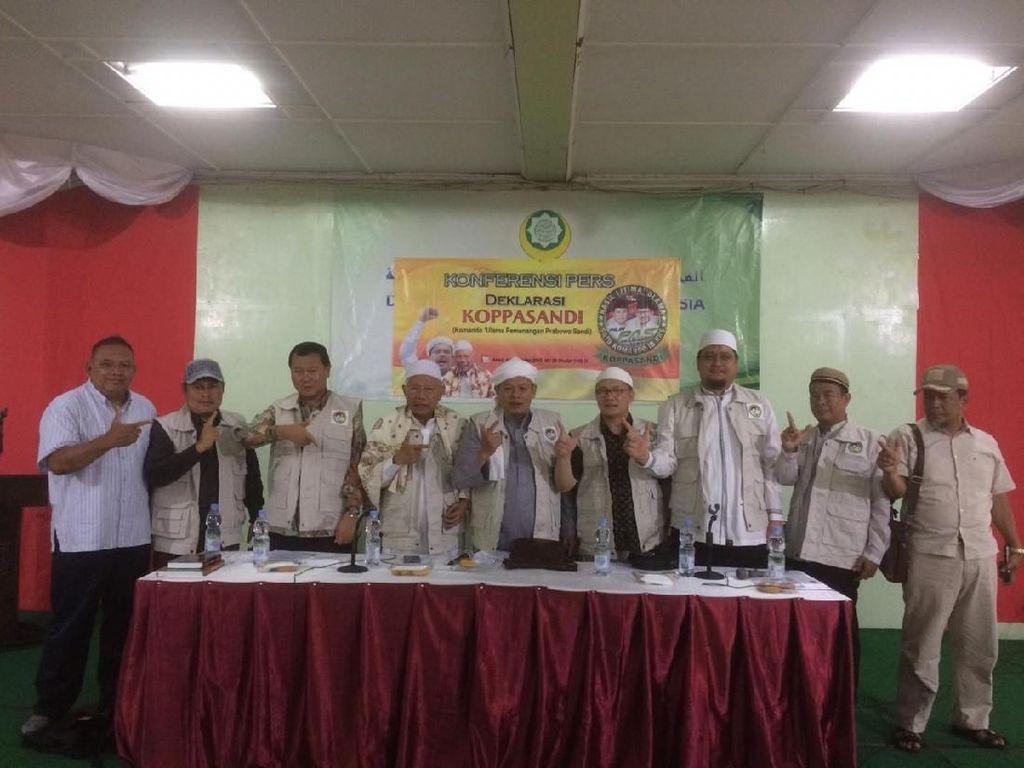 Dukung Prabowo-Sandi, Aktivis Ijtimak Ulama II Bentuk Koppasandi