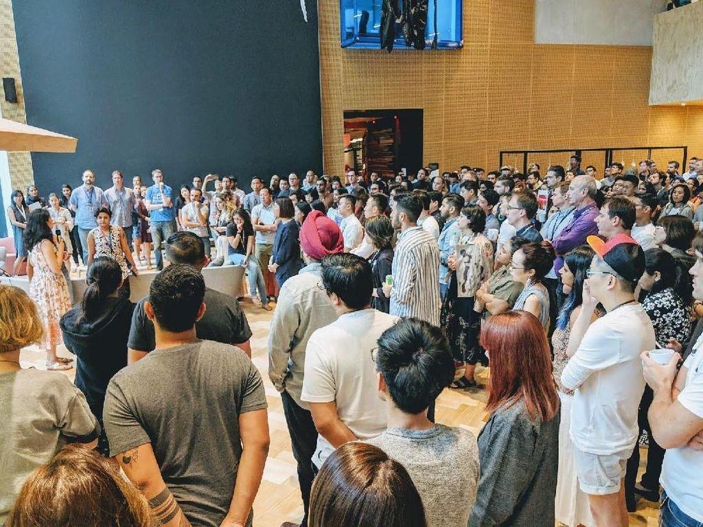 Ribuan Karyawan Google Berdemo