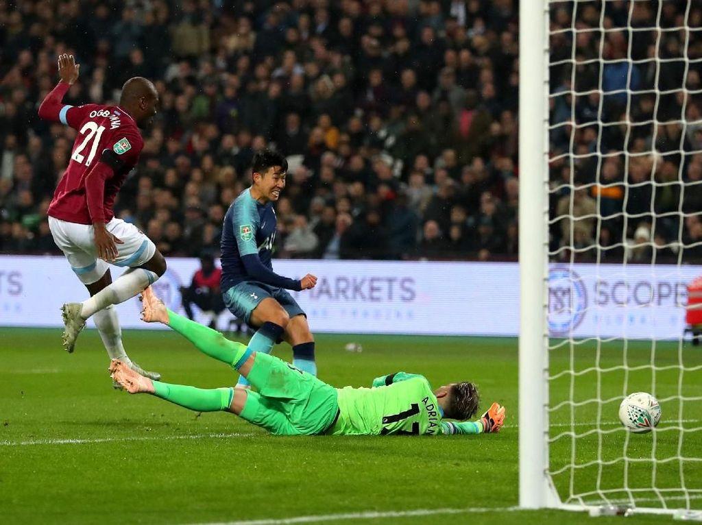 Hasil Piala Liga Inggris: Tottenham Lolos Usai Atasi West Ham