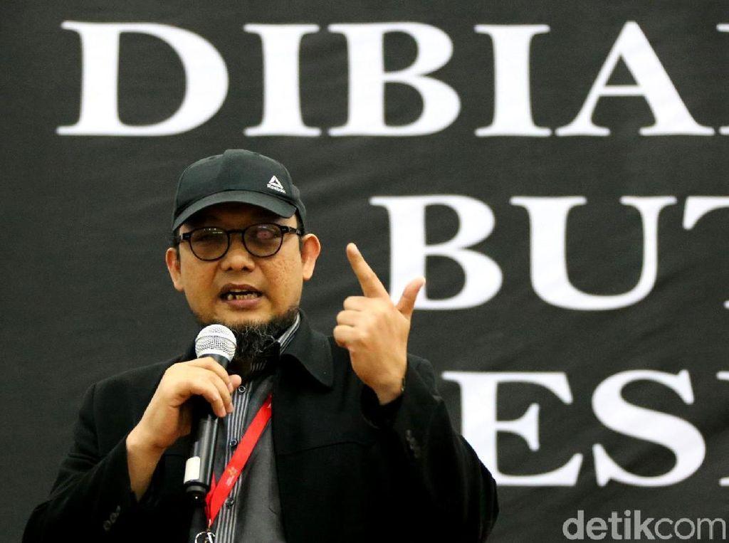 Diskusi 500 Hari Novel Baswedan di KPK