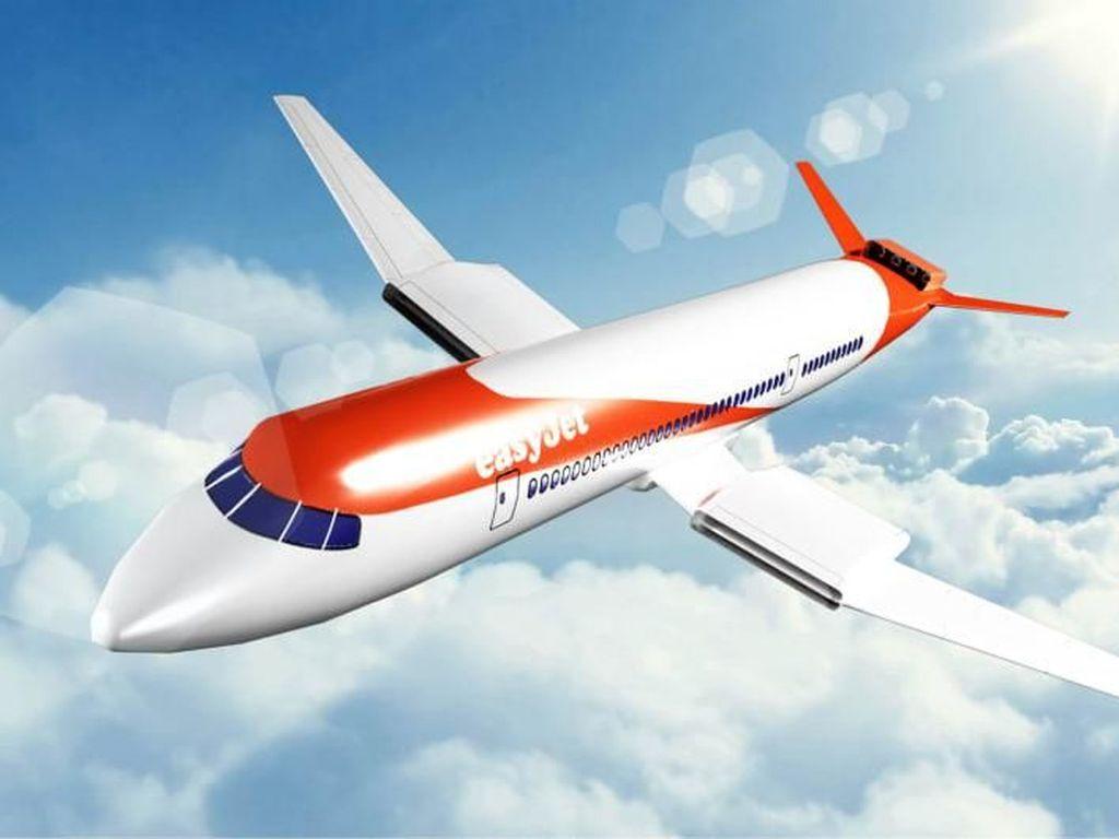 Prototipe Pesawat Listrik Tahun 2030 dari Inggris