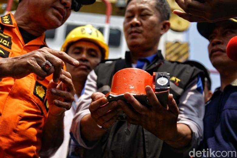 Fakta Black Box Lion Air: CVR Belum Ketemu, FDR Terpotong Jadi Dua